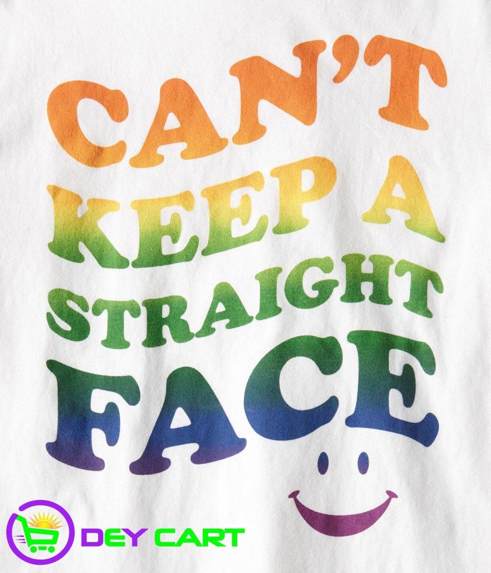 Aeropostale Straight Face Graphic Tee - Bleach
