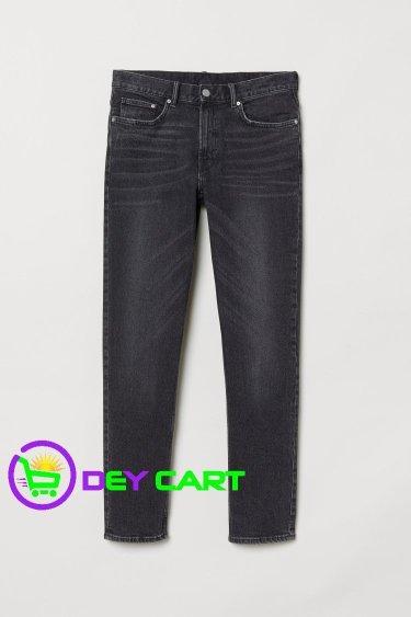 H&M Slim Jeans - Black Denim