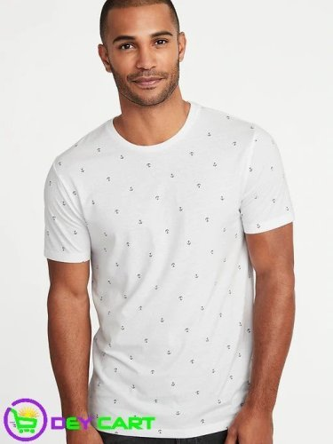 Old Navy Anchor Printed Tee - White