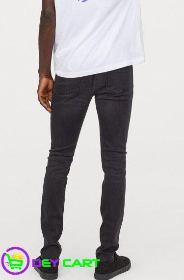H&M Lyocell Skinny Jeans - Black 1