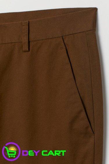 H&M Slim Fit Cotton Chinos - Brown
