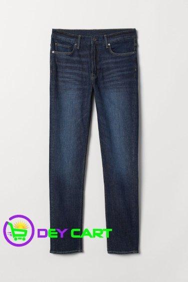 H&M Slim Jeans - Dark Denim Blue