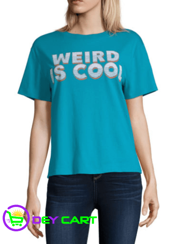 Arizona Weird Is Cool Graphic Tee - Capri Blue