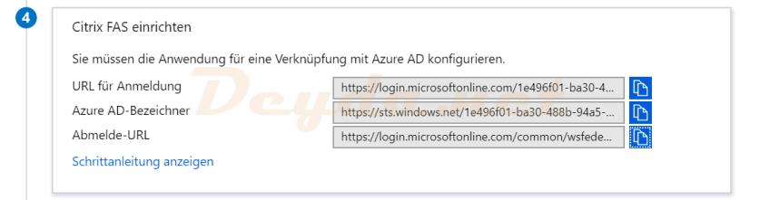 SAML SSO Login URL Azure AD Identifier Logout URL