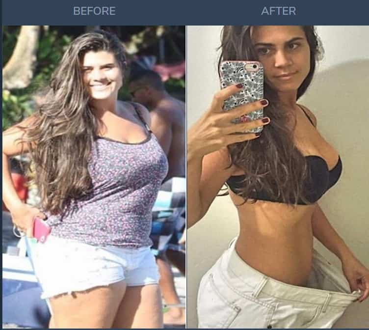 Custom Keto Diet before and after