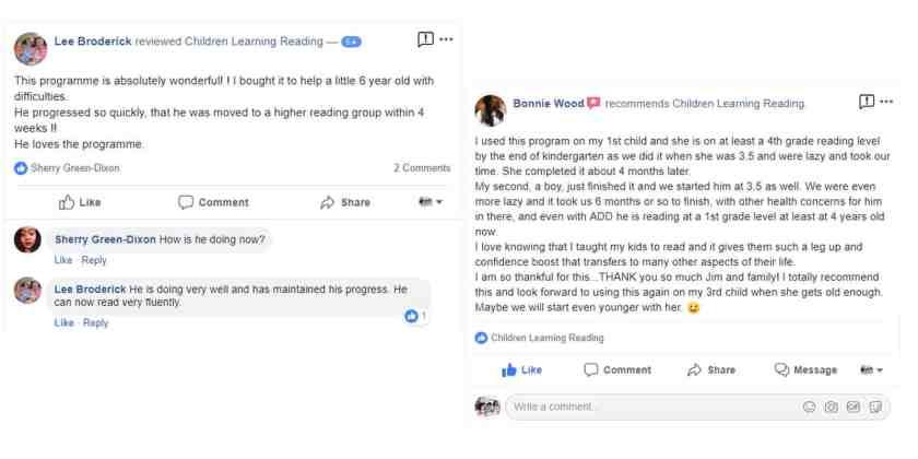 Children Learning Reading customer reviews