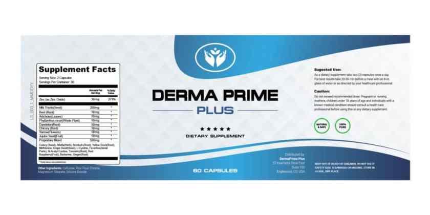 Derma Prime Plus Dosage