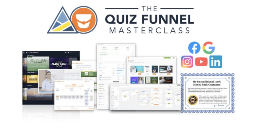 The Quiz Funnel Masterclass Review