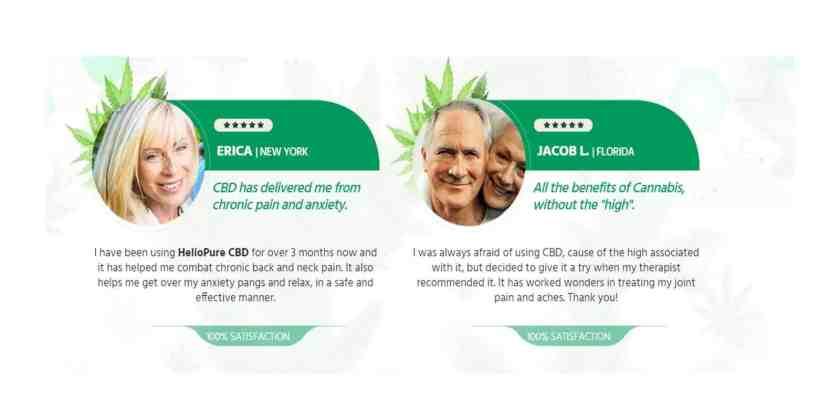 Heliopure CBD Oil customer reviews