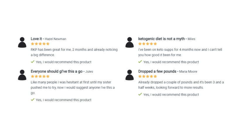 Raspberry Ketone Plus customer reviews