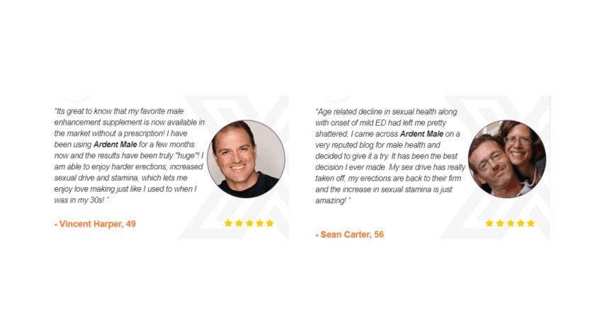 Ardent Male Enhancement Customer Reviews