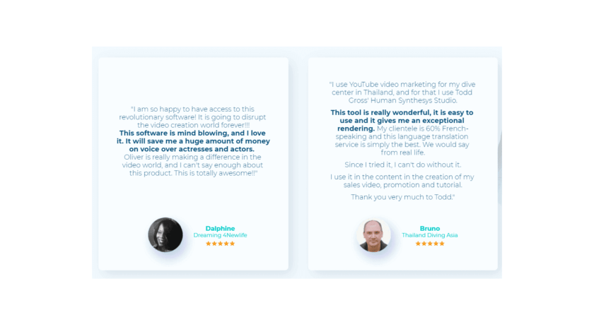 Human Synthesys Studio - Customer Reviews