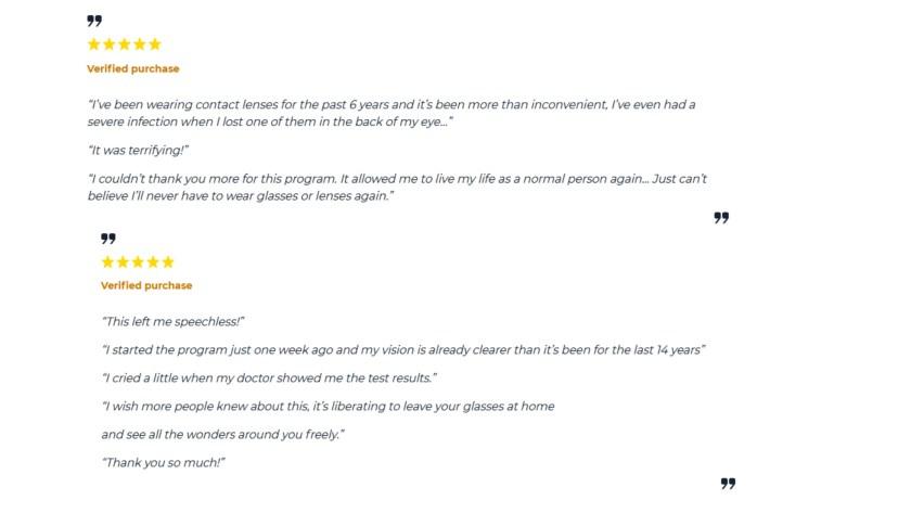 Provisine Customer reviews