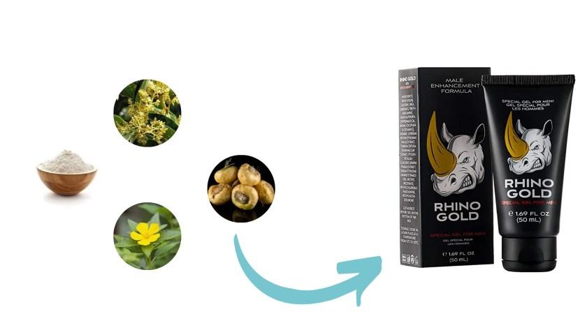 Rhino Gold Gel Ingredients