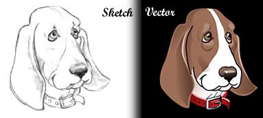 Digital vector art sample