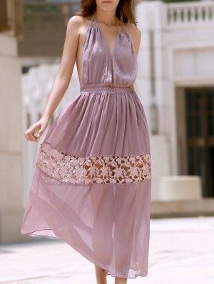 rochie baby pink