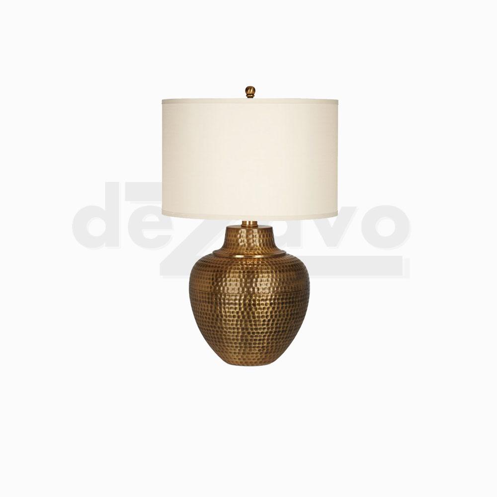 Bronze Vass Lamp