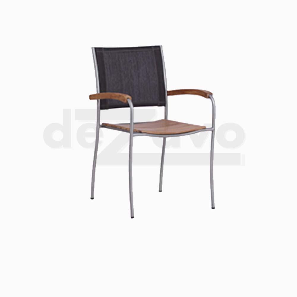 Barz Arm Teak Chair