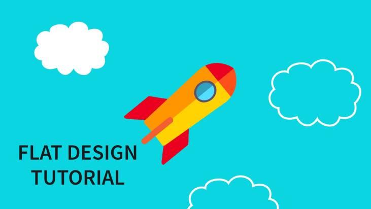 Flat design tutorial
