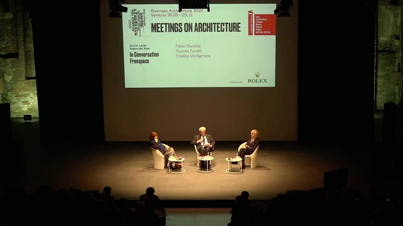 Biennale Architettura 2018 – Meetings on Architecture 10 (In Conversation Freespace)