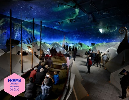 Press kit | 3160-01 - Press release | Announcing the Nominees of the Frame Awards 2018 - Frame - Competition - Nominated for Best Use of Digital Technology Hidden Museum Tirpitz, Blåvand by Tinker imagineers<br> - Photo credit: Mike Bink