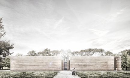 Press kit   809-21 - Press release   AZURE Reveals the Winners of the 2017 AZ Awards - AZURE - Competition -  A Church for the Local Community,&nbsp;Wrocław, Poland<br>Adamiczka Consulting, Wrocław, Poland<br>Best Unbuilt Concept - 2017 AZ Awards  - Photo credit: AZURE