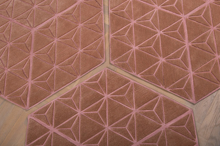 Press kit   2512-01 - Press release   Jigsaw Rug Wins Double Design Award - Ingrid Külper Design AB - Commercial Interior Design -  jigsaw multipurpose rug    - Photo credit: Ewa Malmsten Nordell