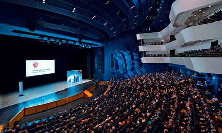 """Press kit   1696-06 - Press release   After record participation: The winners of the Red Dot Award: Product Design 2016 have been announced! - Red Dot Award - Competition - Award ceremony """"Red Dot Gala"""" in the Aalto-Theater in Essen, Germany<br> - Photo credit: Red Dot"""