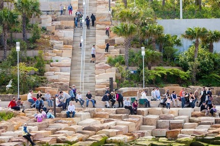 Press kit | 1968-07 - Press release | Winners of the 2017 American Architecture Prize Announced - AAP - The American Architecture Prize - Commercial Architecture - Landscape Design of The Year: Barangaroo Reserve by PWP Landscape Architecture - Photo credit: PWP Landscape Architecture