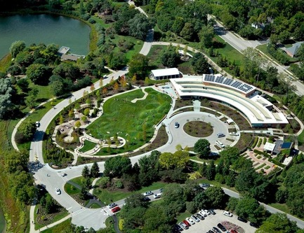 Press kit | 1968-07 - Press release | Winners of the 2017 American Architecture Prize Announced - AAP - The American Architecture Prize - Commercial Architecture - The Regenstein Learning Campus - Chicago Botanic Garden - Photo credit: Mikyoung Kim Design