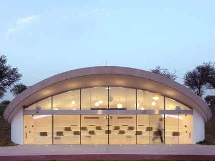 Press kit | 2404-02 - Press release | Oxygen Park, Education City, Doha - Qatar Foundation, AECOM - Institutional Architecture -  Folly Building  - Photo credit: Markus Elblaus