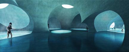 Press kit   2255-01 - Press release   Liepāja Thermal Bath receives 2016 AAP American Architecture Prize - Steven Christensen Architecture - Institutional Architecture - Interior View - Photo credit: Steven Christensen Architecture