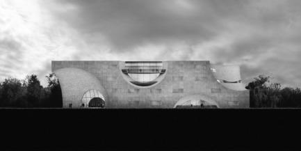Press kit   2255-01 - Press release   Liepāja Thermal Bath receives 2016 AAP American Architecture Prize - Steven Christensen Architecture - Institutional Architecture - East Elevation - Photo credit: Steven Christensen Architecture