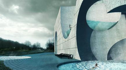 Press kit   2255-01 - Press release   Liepāja Thermal Bath receives 2016 AAP American Architecture Prize - Steven Christensen Architecture - Institutional Architecture - Exterior View, West Baths - Photo credit: Steven Christensen Architecture