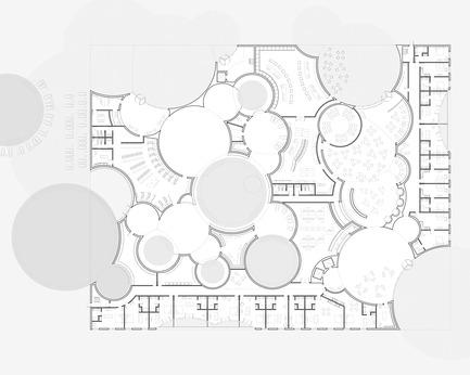 Press kit   2255-01 - Press release   Liepāja Thermal Bath receives 2016 AAP American Architecture Prize - Steven Christensen Architecture - Institutional Architecture - Plan, Ground Floor - Photo credit: Steven Christensen Architecture