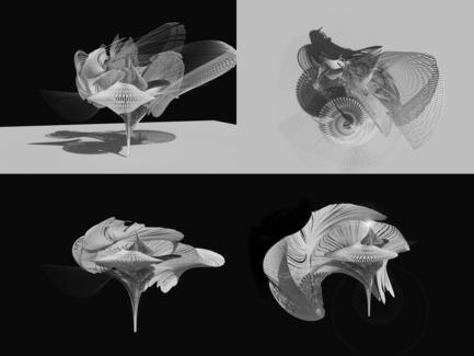 Press kit   2121-06 - Press release   Seismic Electromagnetic Induction LED - Margot Krasojević Architects - Lighting Design - Animated Seismic digital model - Photo credit: Margot Krasojević