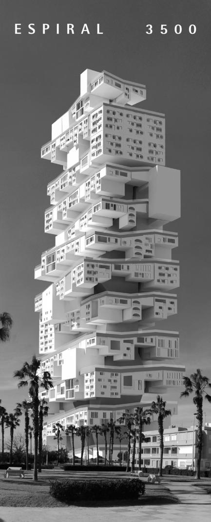Press kit | 1127-13 - Press release | Winners 2017 eVolo Skyscraper Competition - eVolo Magazine - Competition - Espiral3500 - third place - Photo credit: Javier López-Menchero Ortiz de Salazar