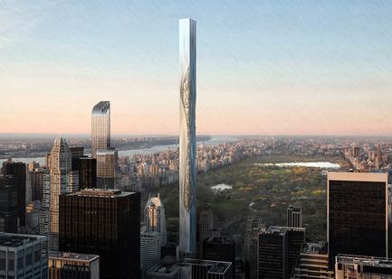 Press kit | 1127-13 - Press release | Winners 2017 eVolo Skyscraper Competition - eVolo Magazine - Competition - Flexible Materials Skyscraper - honorable mention - Photo credit: Fu Hao, Zhang Yunlong, Yang Ge