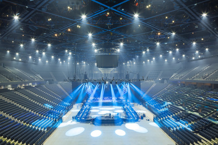 Press kit   2042-01 - Press release   The AccorHotels Arena - DVVD architecture, design and engineering agency - Commercial Architecture - After renovation<br> - Photo credit: Sergio Grazia