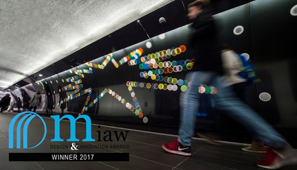 Press kit   2276-04 - Press release   MIAW 2017: And the Winners Are - ArchiDesignclub by Muuuz - Competition - EURO-SHELTER - Enamelled sandwich panels - Photo credit: (c) muuuz
