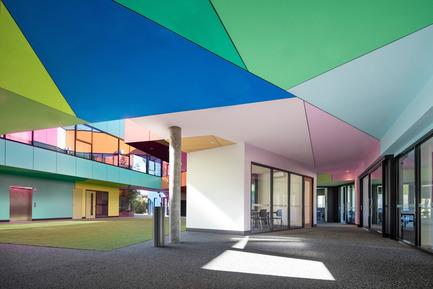 Press kit | 2259-02 - Press release | Ivanhoe Grammar Senior Years & ScienceCentre - McBride Charles Ryan - Institutional Architecture - Internal View - Photo credit: John Gollings