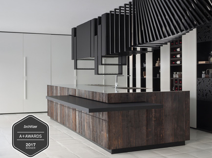 """Press kit   2558-01 - Press release   Alessandro Isola's """"The Cut""""wins the Architizer A+ Award - Alessandro Isola Ltd. - Residential Interior Design - Photo credit: Alessandro Isola"""