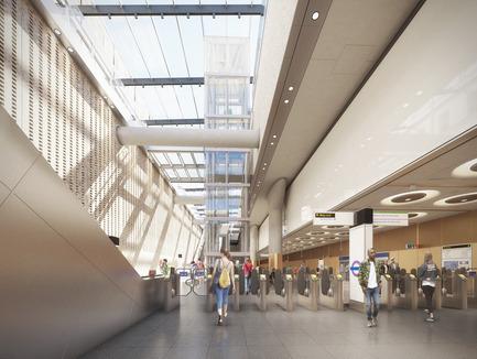 Press kit   2239-01 - Press release   The Paddington Integrated Project (PIP) - Weston Williamson + Partners - Urban Design - Paddington Crossrail Station 2 - Photo credit: © WestonWilliamson+Partners