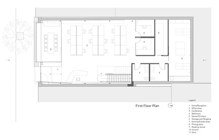 Press kit   1891-02 - Press release   Hybrid Design - Terry & Terry Architecture - Commercial Architecture - first/ground floor plan - Photo credit: Terry.Terry Architecture