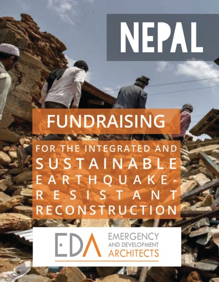 Press kit | 685-12 - Press release | Fundraising for the integrated and sustainable earthquake-resistant reconstruction of Nepal - Emergency and Development Architects - Institutional Architecture - Photo credit: Athit Perawongmetha