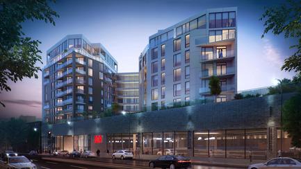 Press kit   2056-01 - Press release   Unveiling Of The Brand New Beaumont Condominiums Project - DevMcGill - Real Estate - Beaumont Condominiums - A Distinctive Architecture - Photo credit: Sébastien Gaudard - Vizual 3D
