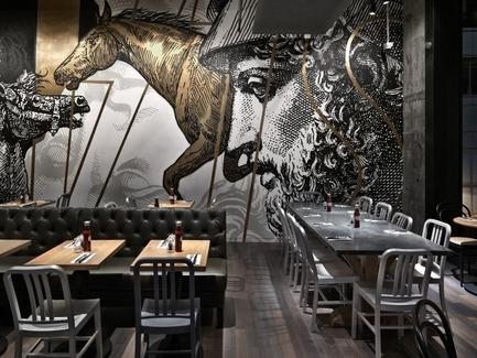 Press kit | 1124-05 - Press release | World Interiors News Awards 2015 jury announced - World Interiors News - Commercial Interior Design - BEEF & LIBERTY, Wanchai, Hong Kong by spinoff co., ltd. - Photo credit: spinoff co., ltd.