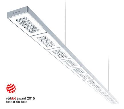 Press kit | 1659-01 - Press release | Luminaire manufacturer Zumtobel wins three Red Dot Design awards - Zumtobel Lighting GmbH - Product - SEQUENCE by Zumtobel - a Red Dot: Best of the Best award winning luminaire. - Photo credit: Zumtobel