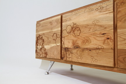 Press kit | 1691-01 - Press release | Make art objects part of your decor - Barda - Product -    Agitatio Buffet  - Photo credit:  Nicolas Girard