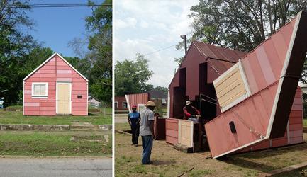 Press kit | 809-12 - Press release | Azure announces the winners of the fourth annual AZ Awards - Azure Magazine - Competition - Best Temporary/Demonstration Architecture: Matthew Mazzotta: Open House, York, Alabama, U.S.